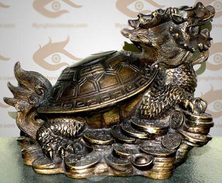 inh vật này biểu tượng quyền lực tuyệt đỉnh giữa rùa và lân.
