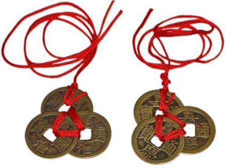Đồng tiền xu Phong Thủy kích hoạt sự giàu có