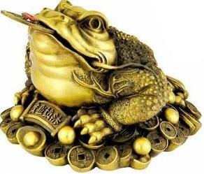 Cóc 3 chân biểu tượng của sự may mắn về tiền bạc